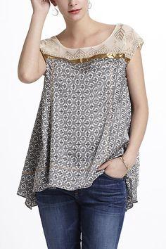 Skirt to tunic idea