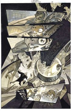 Infinite City, pg3 alternate by CarlosMeglia on DeviantArt