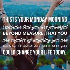 I LOVE MONDAYS! This morning, my Rodan + Fields team is chatting all over our group page and running for amazing goals in their businesses. I love supporting and encouraging them. BEST. JOB . EVER!!! Come join us!