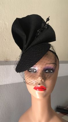 Black Fascinator from Eboneezkraft Stylish designs Facebook- Eboneezkraft  Instagram-  eboneezkraft e6aa35de5e91