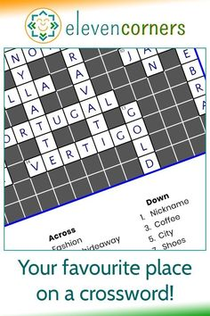 A crossword to celebrate a location - an idea from one of our customers. A custom crossword print with clues and answers about a village in England, it's a unique and personal gift idea. #elevencorners #crossword #crosswordpuzzle #personalisedprints Personalised Gifts For Mum, Personalised Prints, Personalized Wall Art, Family Wall Art, Family Christmas Gifts, Music Artwork, Crossword, Geometric Art, Wall Art Prints