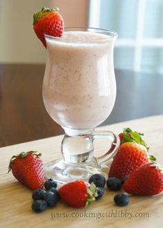 Cooking With Libby: Celine's Fruit Smoothie