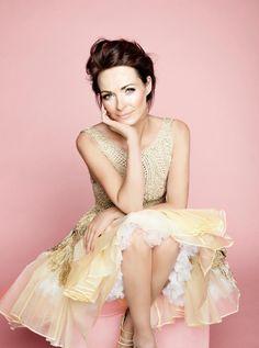 Sharon Corr (The Corrs)  She's elegant.