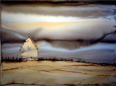 """Björn Bernström (watercolor) ~ Miks' Pics """"Artsy Fartsy lV"""" board @ http://www.pinterest.com/msmgish/artsy-fartsy-lv/"""