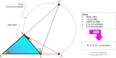 Geometry Problem 911: Right Triangle, Double Angle, Triple Angle, Concyclic Points, Cyclic Quadrilateral. Level: High School, College, Mathematics Education