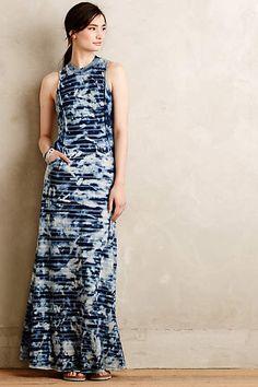Stonewashed Maxi Dress - anthropologie.com