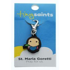 St. Maria Goretti Tiny Saints Charm