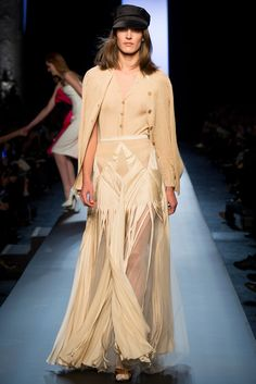 "Preview ""Jean Paul Gaultier Spring Haute Couture 2015"" 