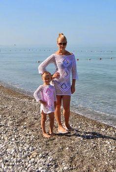 a93409b5795d 55 melhores imagens de mãe e filha crochê em 2016 | Mae e filha ...