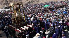 Miles de fieles fueron al encuentro de la Virgen de Chapi  -Arequipa ,/ El Comercio Perú -Jhabich