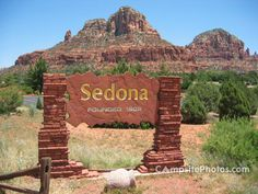 Sedona Sign.... Founded 1902