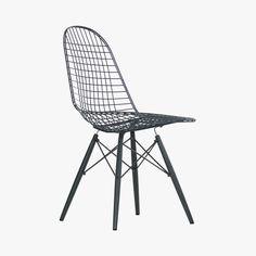 Chaise, Wire Chair DKW