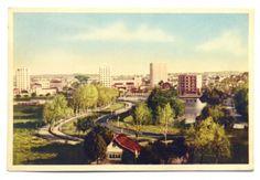 Cartão Postal: Vista Parcial - Curitiba. BC.