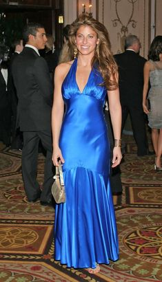 Long satin dress Silk Satin Dress, Satin Dresses, Gowns, Long Dresses, Formal Dresses, Blue Satin, Sexy, Beauty, Style