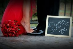 Prom Homecoming chalkboard picture