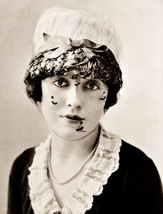 Mabel Normand (1892-1930) - American silent film comedienne and actress. She was a popular star of Mack Sennett's Keystone Studios and is noted as one of the film industry's first female screenwriters, producers and directors. At the height of her career in the late 1910s and early 1920s, Normand had her own movie studio and production company.