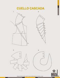modelist kitapları: Manual-de-Patronaje-Basico-e-Interpretacion-de-Disenos Pattern Making Books, Pattern Books, Clothing Patterns, Dress Patterns, Sewing Patterns, Pattern Drafting Tutorials, Sewing Collars, Sewing Doll Clothes, Modelista