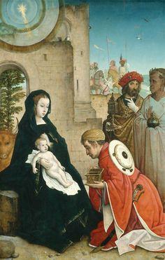 The Adoration of the Magi Juan de Flandes c. 1508/1519