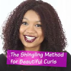 Want to define your beautiful curls? Try the very easy and stunning Shingling Method! http://www.naturalhairmag.com/shingling-method/