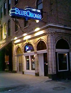Drink a whole bunch of scotch whilst listening to incredible jazz @ Blue Chicago.