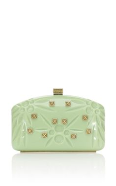 Shop Valentino Pop Apple Rockstud Enamel Miniaudiere at Moda Operandi Best Handbags, Purses And Handbags, Valentino Resort, My Bags, So Little Time, Evening Bags, Clutch Bag, Fashion Bags, Accessories