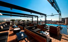 The Grand Hotel Central Reopens its Sky Bar, Barcelona's Most Luxurious Viewpoint