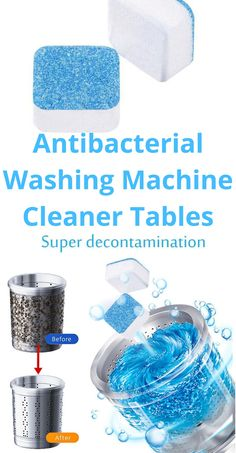 This is one of the best way to keep your laundry dezinfectant, is a rating product, with all the viruses and infection in the world, you need it for your Washing Machine to keep it clean and fresh ✨♻️🛒🔥⭐⭐⭐⭐⭐ Washing Machine Cleaner, Clean Washing Machine, Clean Washer, Laundry Supplies, Door Seals, Septic Tank, Wipe Away, Smell Good, Deep Cleaning