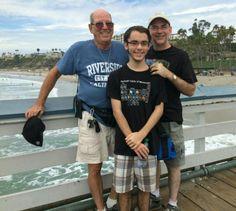Three Generations of Fidlers Larry.        RJ.       Robert                        2015