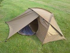Mountain Hardwear Hunker 1. A one person, four season tent.