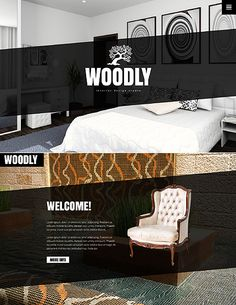 Template 49396 Interior Design Javascript Animated Website Design