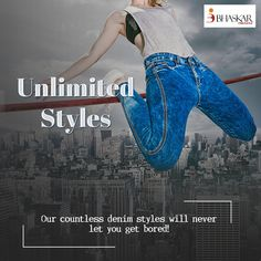 Variety that will never disappoint you. #BhaskarDenims