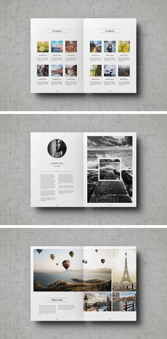 A Clean, Image-Centric Portfolio Template For Showcasing Your Work In Style - DesignTAXI.com