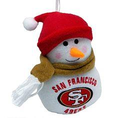San Francisco 49ers Snowman
