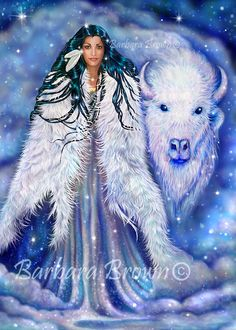 ~ White Buffalo Calf Woman ~