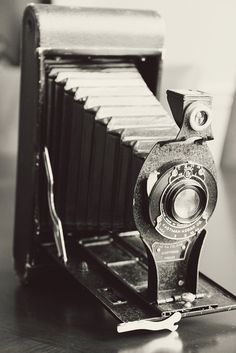 My antique folding camera. #camera #vintage #antique
