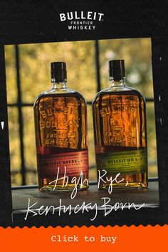 Bourbon Whiskey Brands, Bulleit Bourbon, Rye Bourbon, Cigars And Whiskey, Whisky, Whiskey Bottle, Legal Drinking Age, Alcohol Drink Recipes, Alcoholic Drinks