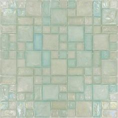 """Sheet size: 12"""" x 12""""     Tile Size: Unique Shapes     Tiles per sheet: 168     Tile thickness: 1/4"""" nominal     Grout Joints: 1/8""""     Sheet Mount: Plastic Face     Sold by the sheet"""
