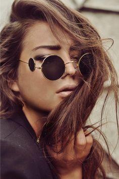 Tom Ford circle sunglasses