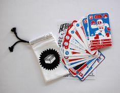Wrestling Quartett cards by Frau Franz. - spielerisch-pädagogische Angehensweise Illustration Art, Illustrations, Wrestling, Packaging Design, Playing Cards, Graphic Design, Monograms, Thesis, Breast Cancer