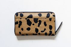 Check out this product from Jean Jail: Status Anxiety: Delilah Wallet Wild Cat Leather Interior, Zip Around Wallet, My Style, Cats, Shopping, Check, Chichicastenango, Gatos, Cat