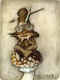 I would love to see Brian Froud and Neil Gaiman pair up to tell the perfect modern day fairy tale :)