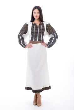 #vintagedress #traditionaldress #romanianlabel Folk Costume, Costumes, Folk Fashion, Womens Fashion, Lace Skirt, Midi Skirt, Embroidered Clothes, Embroidery Fashion, Historical Costume