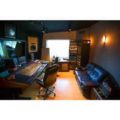 Inside the Underground World of LA's Home Recording Studios Curbed... ❤ liked on Polyvore featuring idolstuff, house, places, recording studio and filler