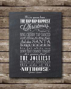The speech I give every Christmas Eve !