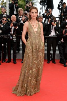 Clotilde Courau in Valentino   Cannes Film Festival 2014