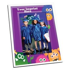 Monster Mania Picture Frame - Great Preschool Graduation gift for kids and parents.