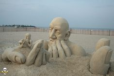 Infinity: A Mind Bending New Sand Sculpture by Carl Jara sculpture sand