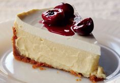 New York cherry cheesecake and three other July 4th desserts