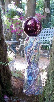 Lagniappe Mosaic - Gallery 1 - Earth Towers/Garden Art