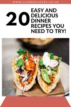 20 delicious dinner recipes you need to try. Read this and find 20 cheap dinner ideas to try tonight. Hearty and healthy dinner ideas that won't break the bank. For quick and easy dinner recipes you'll love click this and cook up something tasty! #dinnerrecipes #dinnerideas #easydinnerrecipes Cheap Easy Meals, Cheap Dinners, Easy Recipes, Healthy Recipes, Good Food, Yummy Food, Delicious Dinner Recipes, Food To Make, Dinner Ideas